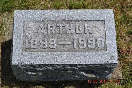 RUSSELL, ARTHUR - Branch County, Michigan   ARTHUR RUSSELL - Michigan Gravestone Photos