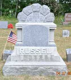 RUSSELL, FAMILY - Branch County, Michigan | FAMILY RUSSELL - Michigan Gravestone Photos