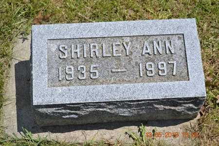 RUSSELL, SHIRLEY ANN - Branch County, Michigan | SHIRLEY ANN RUSSELL - Michigan Gravestone Photos