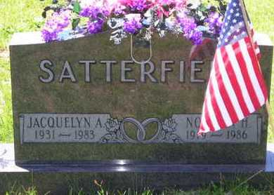 SATTERFIELD, JACQUELYN A. - Branch County, Michigan | JACQUELYN A. SATTERFIELD - Michigan Gravestone Photos