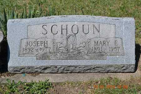 SCHOUN, JOSEPH - Branch County, Michigan | JOSEPH SCHOUN - Michigan Gravestone Photos