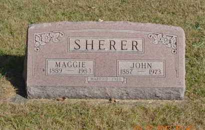 SHERER, JOHN - Branch County, Michigan | JOHN SHERER - Michigan Gravestone Photos