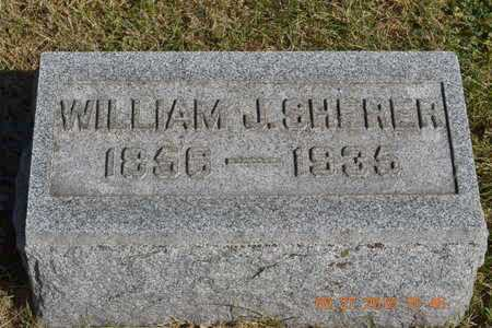 SHERER, WILLIAM J. - Branch County, Michigan | WILLIAM J. SHERER - Michigan Gravestone Photos