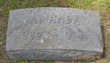 SHERMAN, AMANDA - Branch County, Michigan | AMANDA SHERMAN - Michigan Gravestone Photos