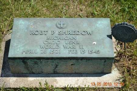 SHREDOW, ROBERT P. - Branch County, Michigan | ROBERT P. SHREDOW - Michigan Gravestone Photos