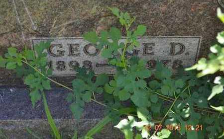 SMART, GEORGE D. - Branch County, Michigan   GEORGE D. SMART - Michigan Gravestone Photos