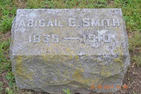 SMITH, ABIGAIL G. - Branch County, Michigan | ABIGAIL G. SMITH - Michigan Gravestone Photos