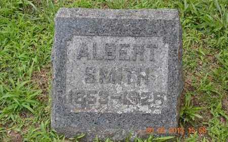 SMITH, ALBERT - Branch County, Michigan | ALBERT SMITH - Michigan Gravestone Photos