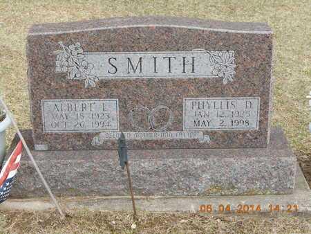 SMITH, PHYLLIS D. - Branch County, Michigan | PHYLLIS D. SMITH - Michigan Gravestone Photos