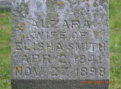 SMITH, ALZARA(CLOSEUP) - Branch County, Michigan | ALZARA(CLOSEUP) SMITH - Michigan Gravestone Photos