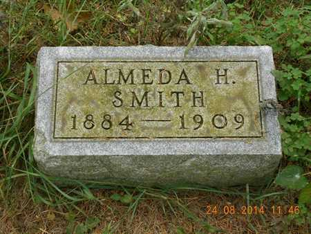 SMITH, ALMEDA H. - Branch County, Michigan   ALMEDA H. SMITH - Michigan Gravestone Photos