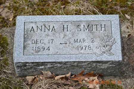 SMITH, ANNA H. - Branch County, Michigan | ANNA H. SMITH - Michigan Gravestone Photos