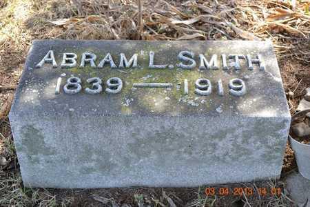 SMITH, ABRAM L. - Branch County, Michigan | ABRAM L. SMITH - Michigan Gravestone Photos