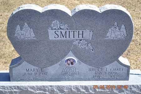SMITH, MARY E. - Branch County, Michigan | MARY E. SMITH - Michigan Gravestone Photos