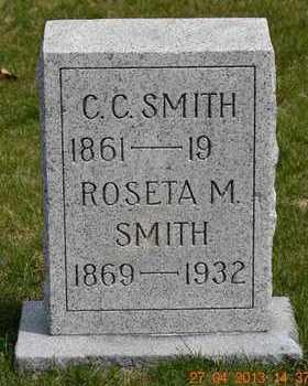 SMITH, C.C. - Branch County, Michigan | C.C. SMITH - Michigan Gravestone Photos