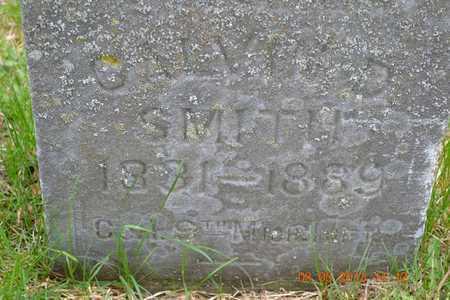 SMITH, CALVIN D.(CLOSEUP) - Branch County, Michigan | CALVIN D.(CLOSEUP) SMITH - Michigan Gravestone Photos