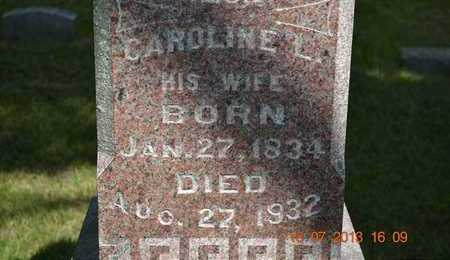 SMITH, CAROLINE L. - Branch County, Michigan | CAROLINE L. SMITH - Michigan Gravestone Photos