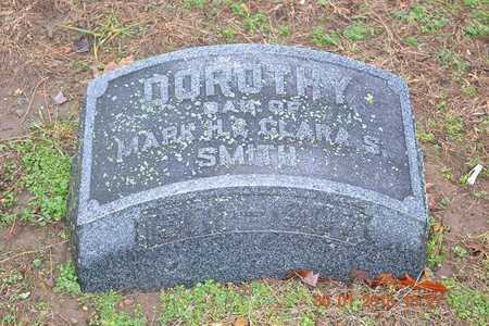 SMITH, DOROTHY - Branch County, Michigan | DOROTHY SMITH - Michigan Gravestone Photos