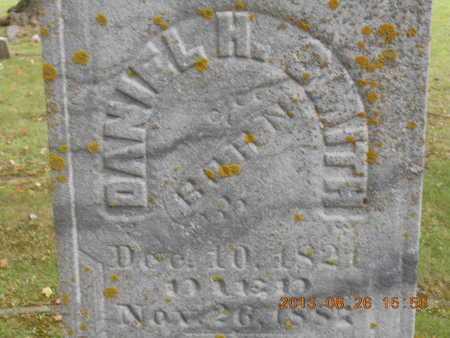 SMITH, DANIEL H. - Branch County, Michigan | DANIEL H. SMITH - Michigan Gravestone Photos