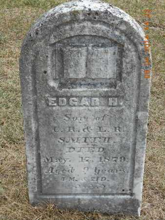 SMITH, EDGAR HOLLIS - Branch County, Michigan | EDGAR HOLLIS SMITH - Michigan Gravestone Photos