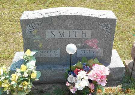 SMITH, EMMET C. - Branch County, Michigan | EMMET C. SMITH - Michigan Gravestone Photos