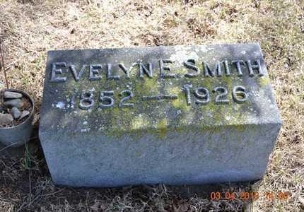 SMITH, EVELYN E. - Branch County, Michigan   EVELYN E. SMITH - Michigan Gravestone Photos
