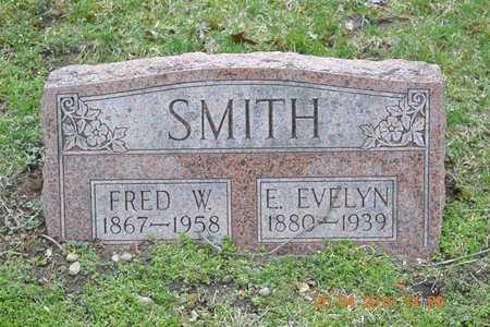 SMITH, E. EVELYN - Branch County, Michigan | E. EVELYN SMITH - Michigan Gravestone Photos