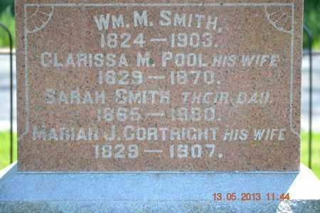 SMITH, FAMILY(CLOSEUP) - Branch County, Michigan | FAMILY(CLOSEUP) SMITH - Michigan Gravestone Photos