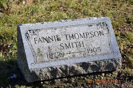 SMITH, FANNIE - Branch County, Michigan | FANNIE SMITH - Michigan Gravestone Photos