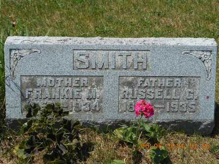 SMITH, RUSSELL G. - Branch County, Michigan | RUSSELL G. SMITH - Michigan Gravestone Photos