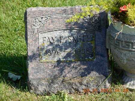 SMITH, FAY E. - Branch County, Michigan | FAY E. SMITH - Michigan Gravestone Photos