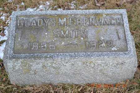 SMITH, GLADYS M. - Branch County, Michigan | GLADYS M. SMITH - Michigan Gravestone Photos