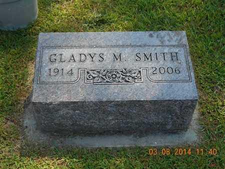 SMITH, GLADYS M. - Branch County, Michigan   GLADYS M. SMITH - Michigan Gravestone Photos