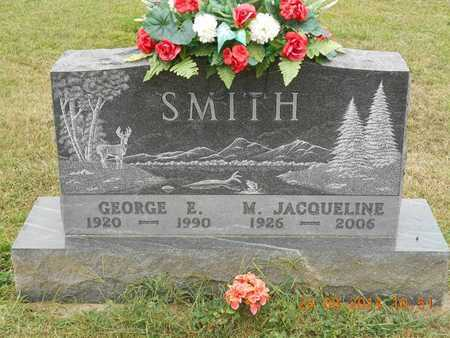 SMITH, M. JACQUELINE - Branch County, Michigan | M. JACQUELINE SMITH - Michigan Gravestone Photos