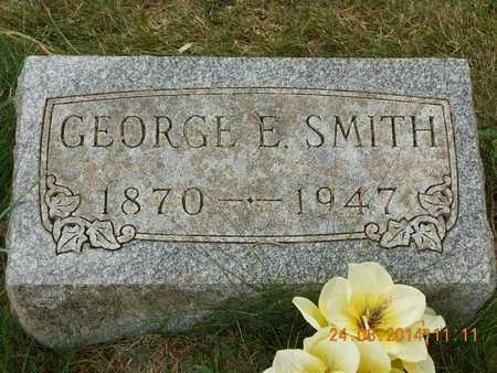 SMITH, GEORGE E. - Branch County, Michigan   GEORGE E. SMITH - Michigan Gravestone Photos