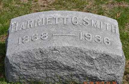 SMITH, HARRIETT C. - Branch County, Michigan   HARRIETT C. SMITH - Michigan Gravestone Photos