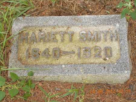 SMITH, HARIETT - Branch County, Michigan | HARIETT SMITH - Michigan Gravestone Photos
