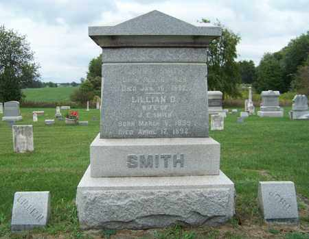 SMITH, LILLIAN - Branch County, Michigan | LILLIAN SMITH - Michigan Gravestone Photos