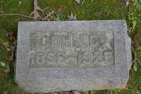 SMITH, JOHN C. - Branch County, Michigan | JOHN C. SMITH - Michigan Gravestone Photos