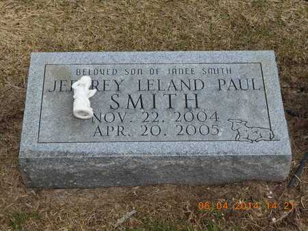 SMITH, JEFFREY LELAND PAUL - Branch County, Michigan | JEFFREY LELAND PAUL SMITH - Michigan Gravestone Photos