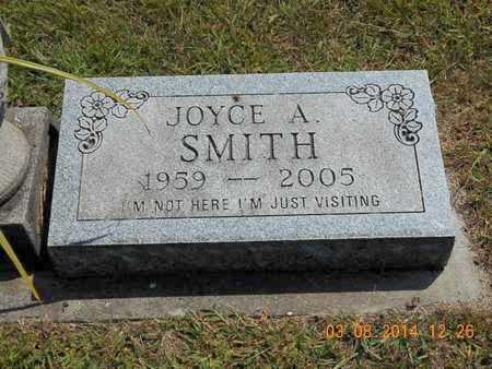 SMITH, JOYCE A. - Branch County, Michigan   JOYCE A. SMITH - Michigan Gravestone Photos