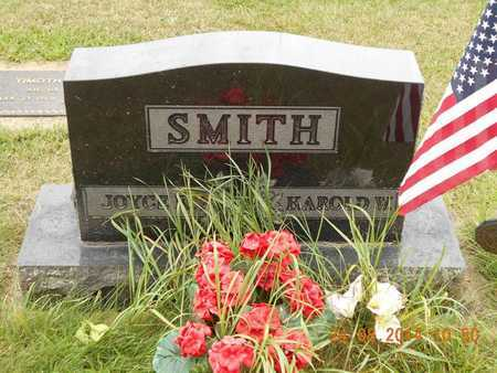 SMITH, HAROLD W. - Branch County, Michigan | HAROLD W. SMITH - Michigan Gravestone Photos
