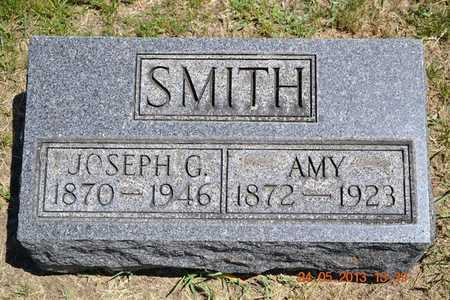 SMITH, JOSEPH G. - Branch County, Michigan | JOSEPH G. SMITH - Michigan Gravestone Photos