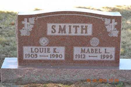 SMITH, MABEL L. - Branch County, Michigan | MABEL L. SMITH - Michigan Gravestone Photos