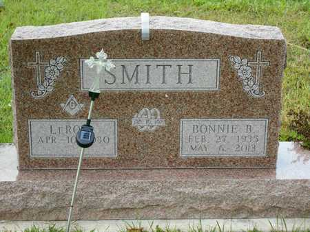SMITH, BONNIE B. - Branch County, Michigan   BONNIE B. SMITH - Michigan Gravestone Photos