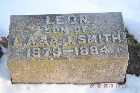 SMITH, LEON - Branch County, Michigan | LEON SMITH - Michigan Gravestone Photos