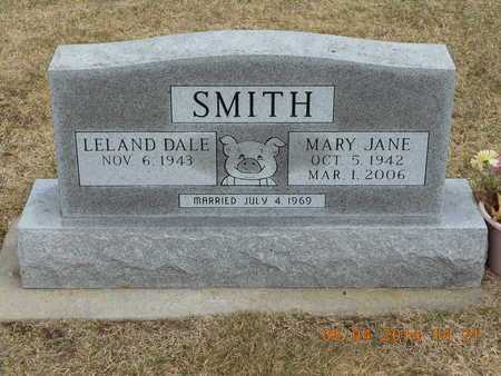 SMITH, LELAND DALE - Branch County, Michigan | LELAND DALE SMITH - Michigan Gravestone Photos