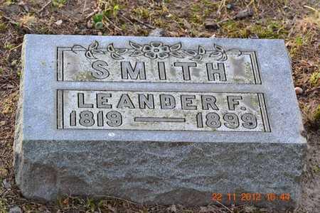 SMITH, LEANDER F. - Branch County, Michigan | LEANDER F. SMITH - Michigan Gravestone Photos