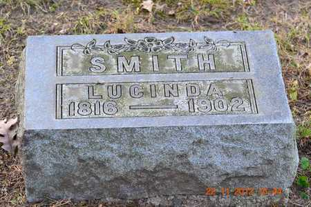 SMITH, LUCINDA - Branch County, Michigan | LUCINDA SMITH - Michigan Gravestone Photos