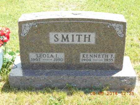 SMITH, LEOLA I. - Branch County, Michigan | LEOLA I. SMITH - Michigan Gravestone Photos